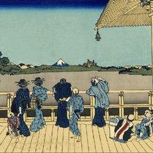 Японец создает удивительные гифки из классических гравюр
