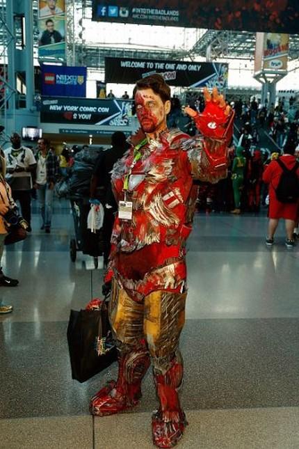 Comic Con 2015 в Нью-Йорке