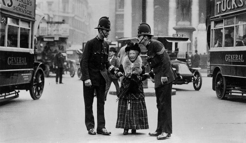 Police officers at the beginning of the 20th century