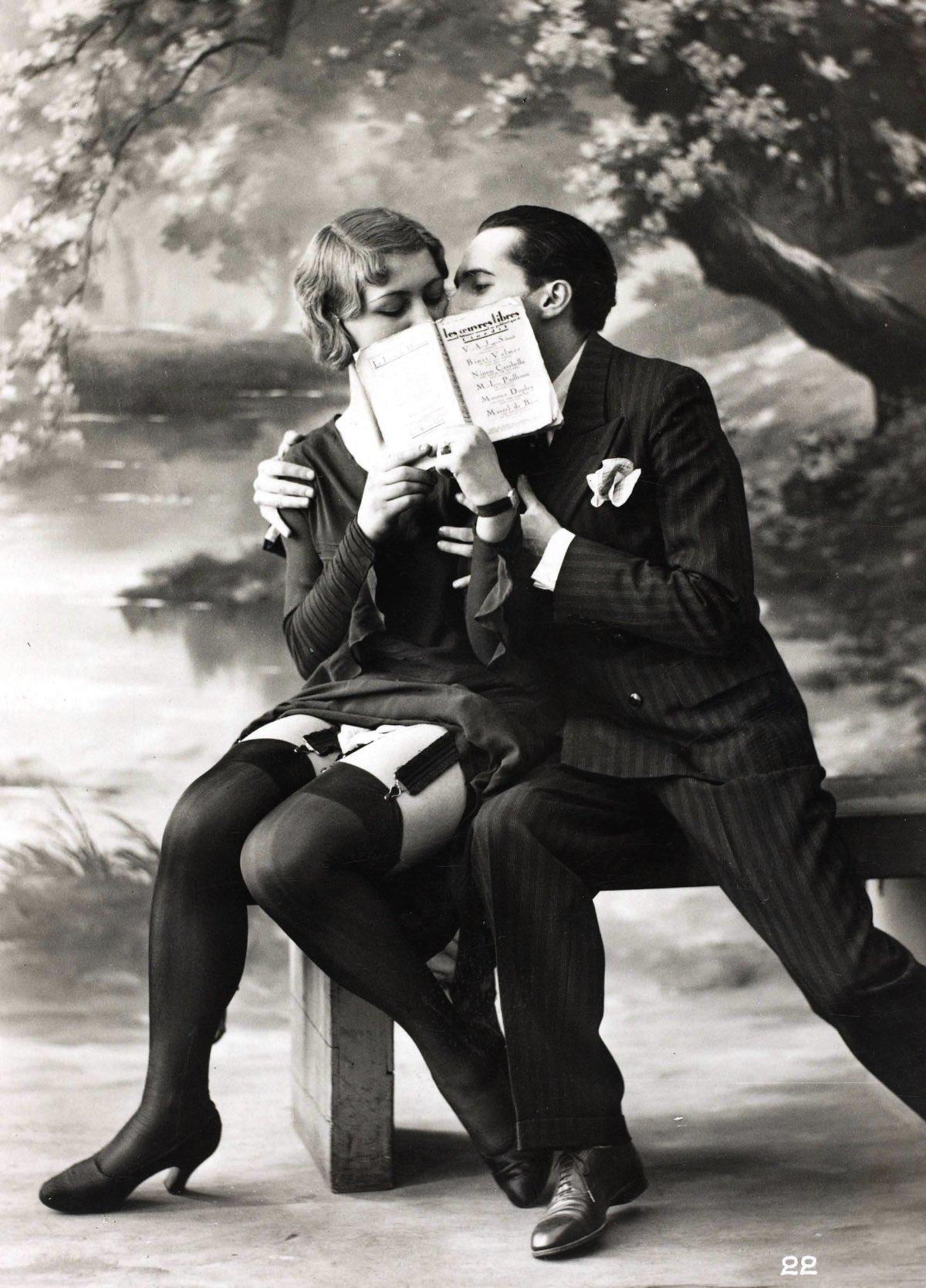 Erotic postcards of the early twentieth century